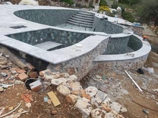 Kar Maden Mermer Garden Pool Marble Grey