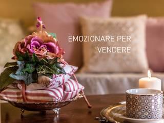 Tessuti cuscini accessori per un restyling di lusso DM Home Staging Studio di Daniela Margiotta SoggiornoAccessori & Decorazioni Cotone Viola/Ciclamino