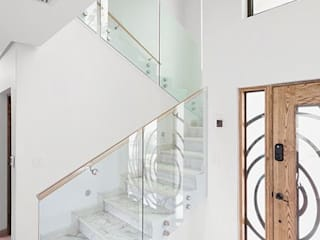 SimpliMation Pty Ltd Modern Corridor, Hallway and Staircase