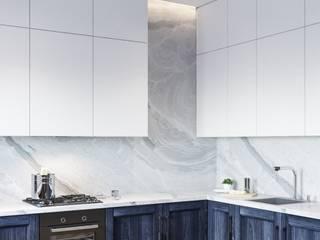 Cozy Loft Style Apartment. 1 bedroom, 97 m2, Barcelona. Кухня в стиле лофт от ANNAROMEO DESIGN Лофт