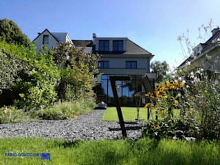 Le Jardin d'Elisabeth. Giardino residenziale a Bruxelles. Giardino moderno di Fabio Uguccioni Garden Designer Moderno