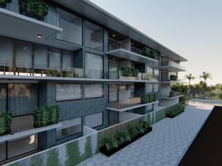 Proyecto Condominio en Playa del Carmen / Atlantico Arqs de ATLANTICO ARQS Moderno
