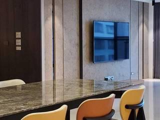 【天然石餐桌】山無陵,天地合,才敢與君絕的餐桌: 經典  by 品茉空間設計(夏川設計), 古典風