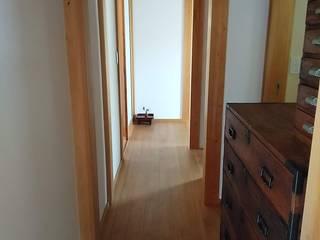 木組の家 和風の 玄関&廊下&階段 の オダ工務店株式会社 和風