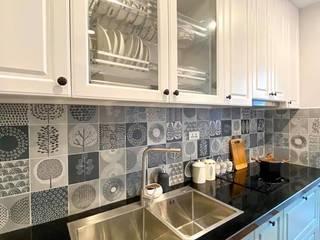 Dự án thiết kế nội thất căn hộ Bea Sky Nguyễn xiển 70m2 Nhà bếp phong cách hiện đại bởi ATZ LUXURY Hiện đại