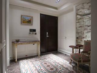 臺北鄭公館B 經典風格的走廊,走廊和樓梯 根據 璞爵設計Project Design 古典風
