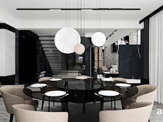 Moderne eetkamers van ARTDESIGN architektura wnętrz Modern