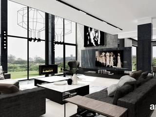 Moderne woonkamers van ARTDESIGN architektura wnętrz Modern