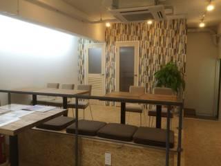 吉祥寺のシェアオフィス-KN-lab- 鈴木賢建築設計事務所/SATOSHI SUZUKI ARCHITECT OFFICE オフィススペース&店