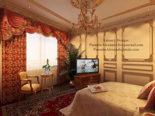 Flat in Paris. Квартира в Париже. Спальня в классическом стиле от Patanin Luxury Design Классический
