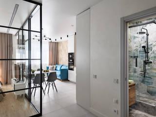 Квартира в современном стиле Коридор, прихожая и лестница в стиле лофт от ООО 'Интерьер-бюро' Лофт