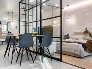Квартира в современном стиле Столовая комната в стиле лофт от ООО 'Интерьер-бюро' Лофт