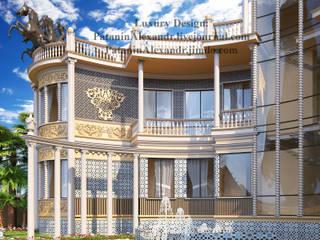 Villa on the beach. Pearl Jumeirah. Dubai. Вилла на пляже. Жемчужный остров. Дубай. Дома в эклектичном стиле от Patanin Luxury Design Эклектичный