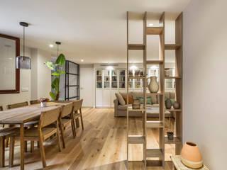 Vivienda Mar de Luces Pasillos, vestíbulos y escaleras de estilo moderno de Destudio Arquitectura Moderno