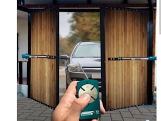 OPEN THE DOOR Front doors Wood effect
