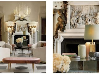 Colonial style living room by Inêz Fino Interiors, LDA Colonial