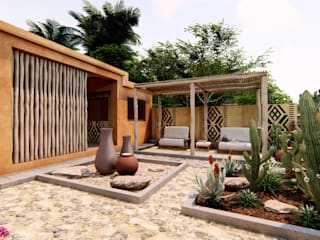 Oscar Torres Arquitecto Mediterrane Häuser Orange