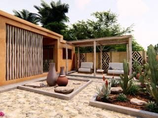 Oscar Torres Arquitecto Mediterranean style houses Orange