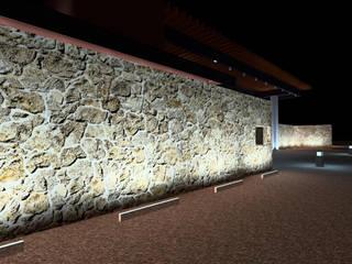 VG Locaciones para eventos de estilo rústico de CDI Lighting Design Rústico