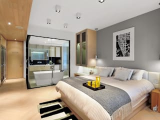 ParkLand, Shenzhen China Modern style bedroom by Darren Design & Associates 戴倫設計 Modern