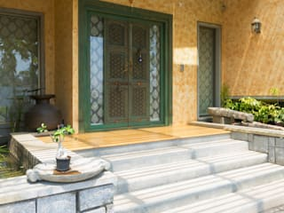VILLA @ BNR Hills Rustic style doors by Crafted Spaces Rustic
