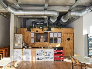 Kiosk_Kantine Ausgefallene Küchen von Architekturbüro Christoph Hilger Ausgefallen