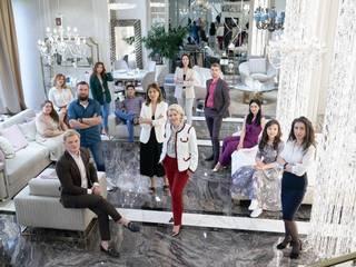 Новый шоурум готов встречать гостей! от Студия Luxury Antonovich Design Классический