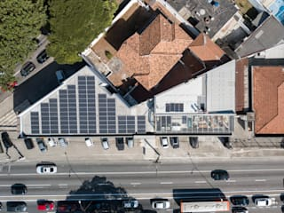 Espaces de bureaux modernes par Vegasolar Energia Moderne