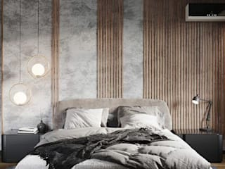 Guest Room Modern living room by Inside Storiez Modern Plywood
