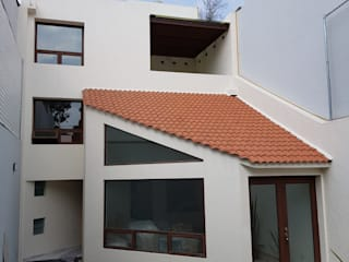 Merkalum Detached home Aluminium/Zinc Wood effect