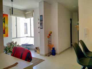 APARTAMENTO 701 EL CEDRAL Salas modernas de A Urbano Construcciones S.A.S Moderno