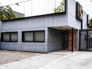 Oficina ITD Chile Las Condes de AlCubo Arquitectos Minimalista