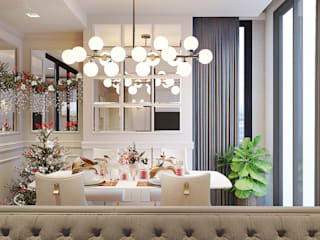 Classic style dining room by Bcon Interior Classic