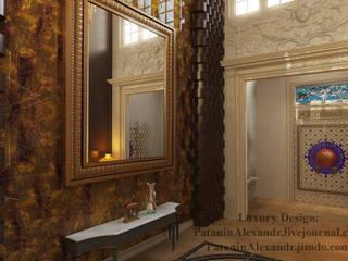 Hall. Холл. Коридор, прихожая и лестница в классическом стиле от Patanin Luxury Design Классический