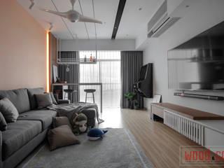 𝐒𝐄𝐓𝐈𝐀 𝐏𝐈𝐍𝐍𝐀𝐂𝐋𝐄 | 𝐏.𝐄.𝐀.𝐂.𝐄. WOOD & COL SDN BHD Living room