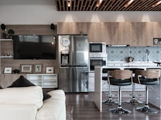 Habilitación Departamento en Vitacura TRAMA ARQUITECTOS Muebles de cocinas
