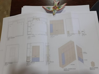 Carpintaria Senhora da Paz, Unipessoal Lda 臥室衣櫥與衣櫃 合板 Wood effect