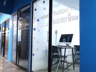 Escuela Digital Revolución Escuelas de estilo moderno de Arquitectos M253 Moderno