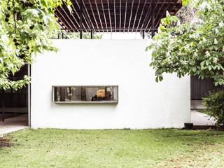 Oficinas empresa Nicolaides, Conchali TRAMA ARQUITECTOS Oficinas y tiendas