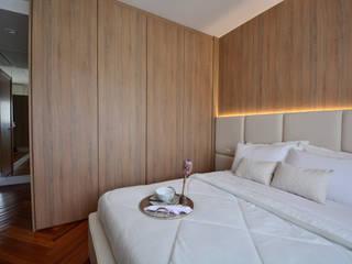 Dormitório Casal por Juliana Damasio Arquitetura Moderno