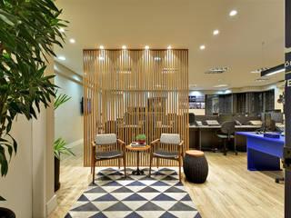 AVR Studio Arquitetura Bangunan Kantor Modern MDF Grey