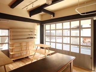 二条の雑貨店 モダンな商業空間 の 中西ひろむ建築設計事務所/Hiromu Nakanishi Architects モダン