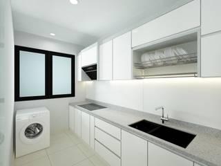 Forest Ville L7 Interior Design Modern style kitchen