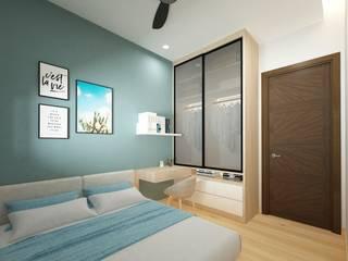 Forest Ville L7 Interior Design Modern style bedroom