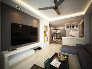 Garden Ville L7 Interior Design Living room