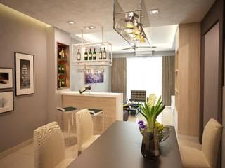 Garden Ville L7 Interior Design Modern dining room
