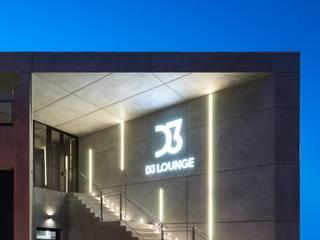 D3 LOUNGE Bares y clubs de estilo industrial de World Light estudio de iluminación Industrial