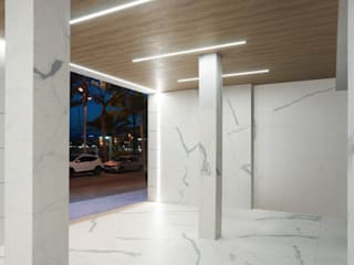 HOTEL MAR DE FONDO Hoteles de estilo moderno de World Light estudio de iluminación Moderno