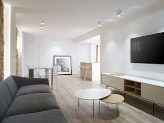 PISO - SEA BREEZE Salones de estilo minimalista de World Light estudio de iluminación Minimalista