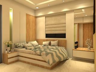 The D'zine Studio BedroomBeds & headboards Kayu Lapis White